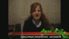 Yayder - Üniversitede Okuyan Bazı Öğrencilerle Ropörtajlarımız