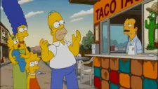 homer simpson tries to order a taco
