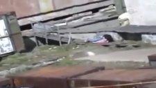 ayının saldırdığı kadının kurtulma anı cep telefonuna böyle yansıdı