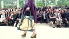 burberry runway show ft anja rubik - london fashion week spring 2012 lfw  fashiontv - ftv