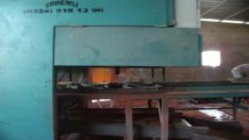 dekoratif parke imalat makinesi