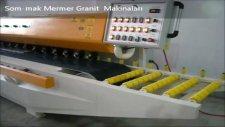 sommak mermer pah balıksırtı bullnose makinası bursa gemlik granit makinaları
