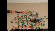 muhteşem sanat domino taşları