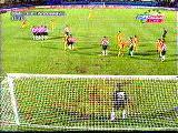 Hagi Freekick Galatasaray Vs Psv Eindhoven