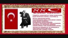 Cumhuriyet'imizin 88 Yılı Kutlu Olsun