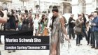 marios schwab spring 2012 at london fashion week with hofit golan lfw  fashiontv - ftv