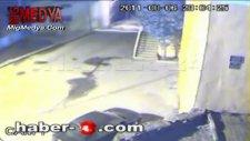 bitlis hizan'da kaymakamlığa yapılan saldırının an ve an görüntüleri