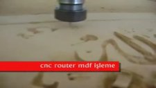 cnc router mdf işleme yeni