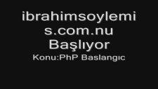 php baslangıc
