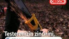 oregon power sharp ile ağaç kesimi daha kolay daha hızlı...