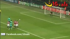Milan 1-2 Barcelona Messi'den Akıl Dolu Penaltı
