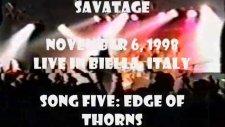 Savatage - Edge Of Thorns Live İn Biella