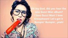 kreayshawn - rich whore with on screen lyrics hd