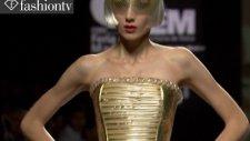 sassy sex appeal  ıntricate corsets maya hansen spring 2012 madrid fashion week  fashiontv - ftv