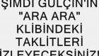 Gülçin'in 'ara Ara' Klibi Çeşitli Kliplerden Çalıntı!