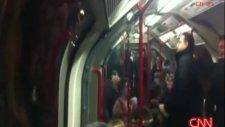 metroda inanılmaz olay