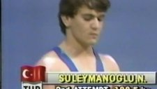 dünya halter şampiyonu naim süleymanoğlu seul 1988