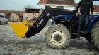 traktör kepçe portatif video