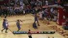 dragic gets the best of westbrook on the fastbreak!