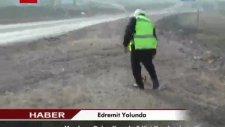 edremit yolunda meydana gelen kazada 3 kişi yaralandı
