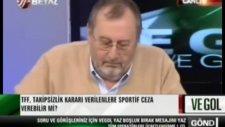canlı yayında çavuşoğlu'ndan küfür