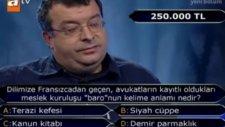 İşte 250 Bin Liralık Soru