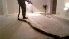 sprey poliüretan köpük/göbek taşı izolasyonu Birpol