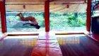 Biga Trambolinde Hakkı Türkücü'den Rekor Hareketle