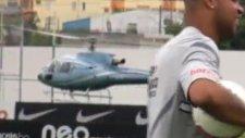 Emerson Sheik antremana geç kalınca helikopterle geldi