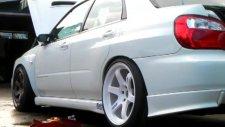 Subaru Impreza Wheel Change Art