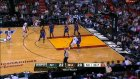 lebron explodes to the rim for the dunk of the night!