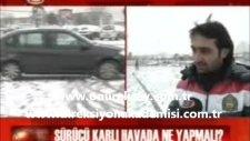 Buzlu ve karlı yollarda araba kullanmak - karda buzda araç sürmenin püf noktalar