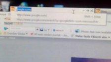 İnternet expoler için Google ana sayfa yapma