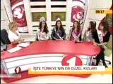 Türkiyenin Güzel Kizlari İlk Kez Canli Yayinda Kon