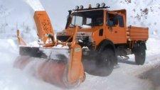 çelikhan kar savurma makinası yol açma