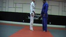 Judo Ashi guruma Leg wheel