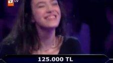 250 bin liralık soruya gelen yarışmacı !