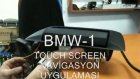 Alpine BMW 1 Serisi Touchscreen Flap Monitör Uygulaması
