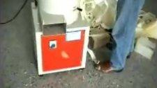 Skm 101 sünger kırpma makinesi