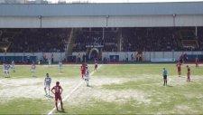 Bozüyükspor-Turgutluspor maçı gol sonrası  (07)