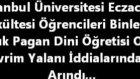 İstanbul Üniversitesi Fosil Sergisi Ve Yaratılış Konferansları