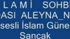 esesli islami sohbet  odası