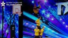Face Team Basketball Acrobatics (Britain's Got Talent 2012)