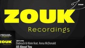 Dabruck  Klein Feat Anna Mcdonald - All About You Original Mix