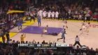 Metta World Peace FLAGRANT FOUL on James Harden!