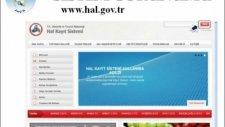 Hal Kayıt Sistemi - Tüccar(Hal İçi) Satış Bildirimi