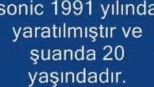 Sonic Live And Learn Türkçe Açıklama