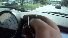 Mini cuper  yolda / vanalı egzoz