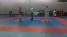 burak kanbur yarı final maçı Ashihara karate