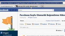 Facebook Otomatik Sayfa Beğendirme Hilesi